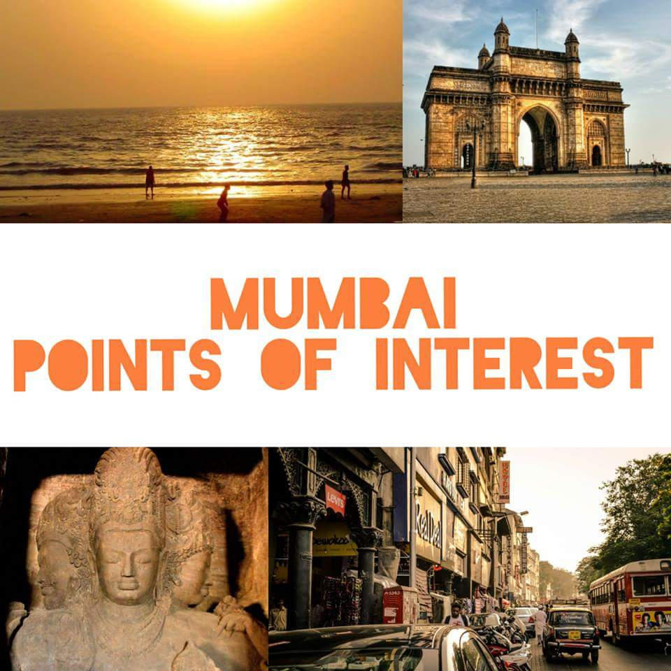 Mumbai Points of Interest, Sightseeing and Tourist Places | Mumbai (With Photos)