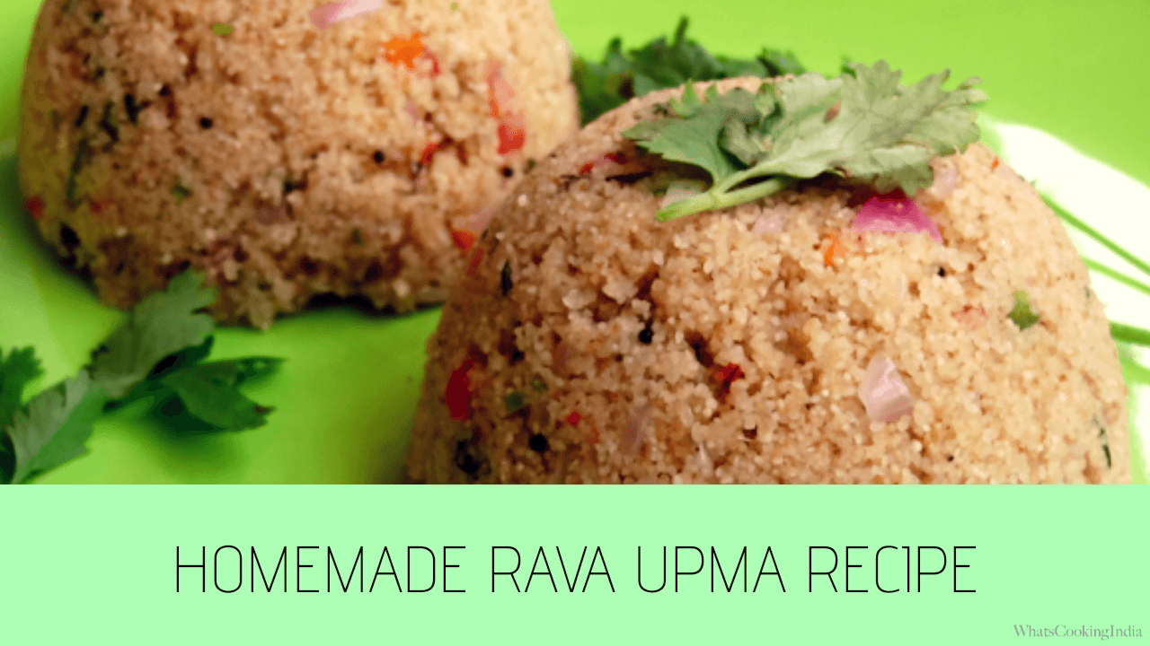 Best Sooji Upma Recipe in 20 Minutes | Rava Upma Recipe