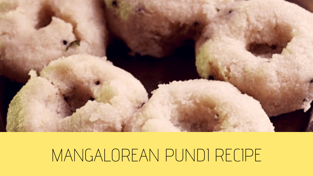Pundi Recipe | Mangalorean Pundi Recipe