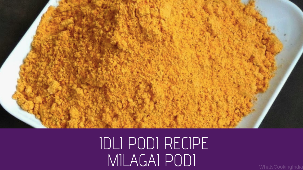 Idli Milagai Podi | Easy Idli Podi Recipe in 20 Min