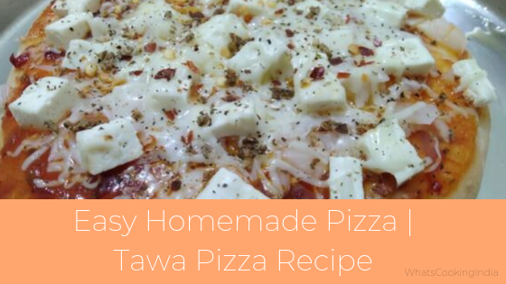 Homemade Pizza Without Oven | Easy Homemade Pizza Recipe