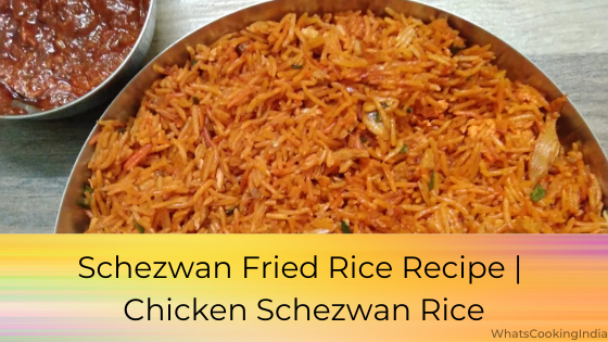Chicken Schezwan Rice | Easy 20-minute चिकन Schezwan राइस