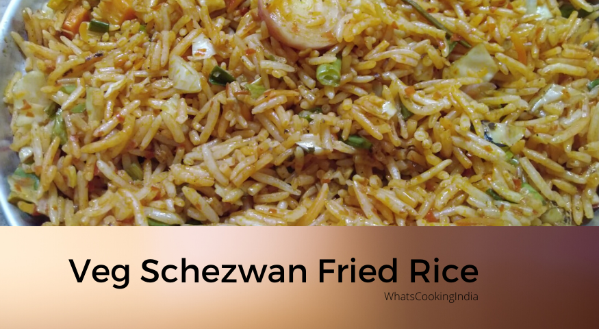 Schezwan Fried Rice Recipe | Easy Kid Friendly Schezwan Fried Rice in 25 Minute