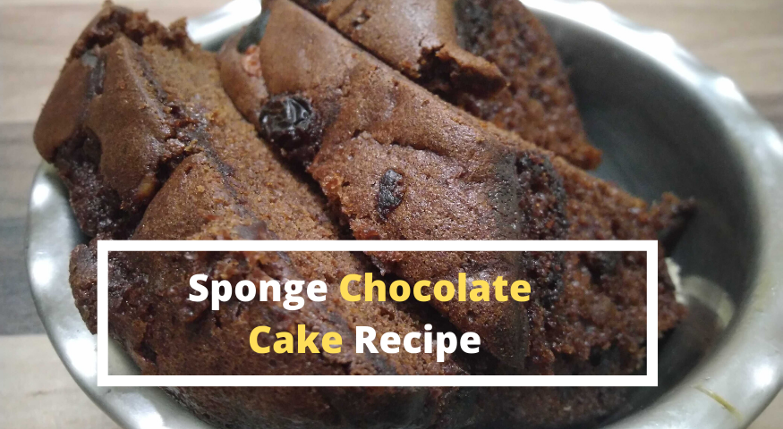 Eggless Chocolate Sponge Cake Recipe: Best Food Post Of 2020 So Far