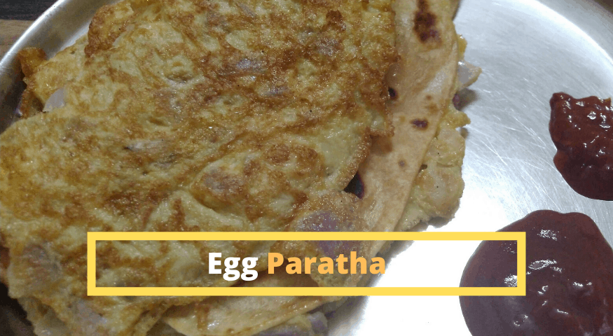 Egg Paratha Recipe | Easy Anda Paratha Recipe in 10 Min