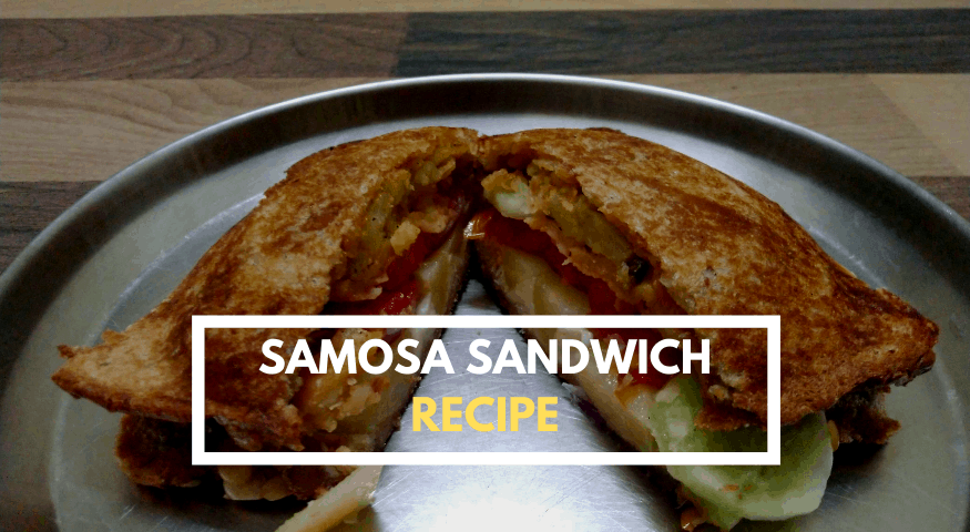 Samosa Sandwich | Quick Samosa Sandwich Recipe