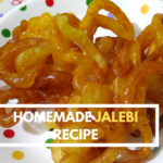 Homemade Jalebi Recipe